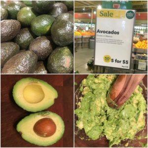 avocado collage
