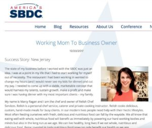 SBDC Success Story - Marcy Ragan